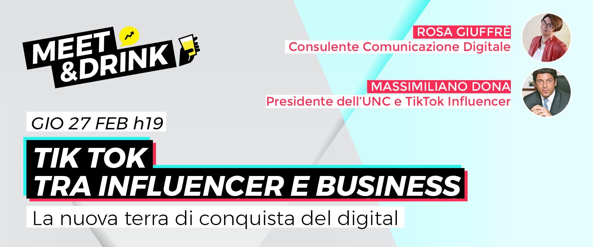 TikTok tra influencer e business